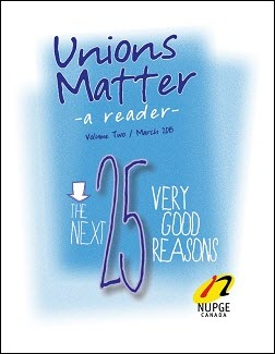 Unions Matter - A Reader Volume 2 cover