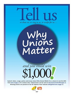 Tell us Why Unions Matter
