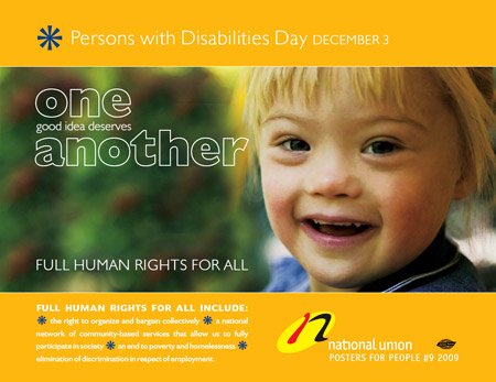 Download NUPGE Poster for Persons with Disabilities Day - Dec. 3