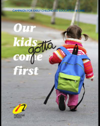 Our kids gotta come first - pdf