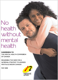 Download NUPGE submission to the Mental Health Commission of Canada