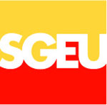 logo for Saskatchewan Government and General Employees Union (SGEU/NUGPE)