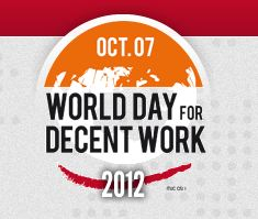 logo for the World Day for Decent Work