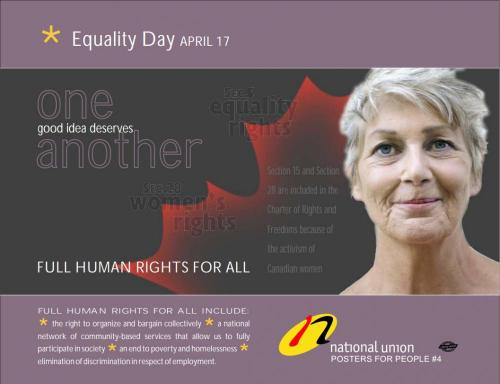 Download - NUPGE Equality Day Poster 2009
