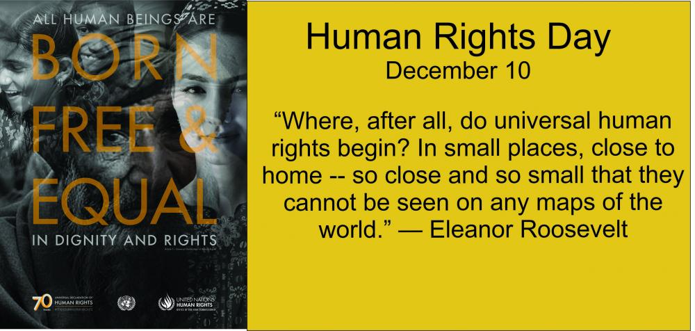 Human Rights Day December 10