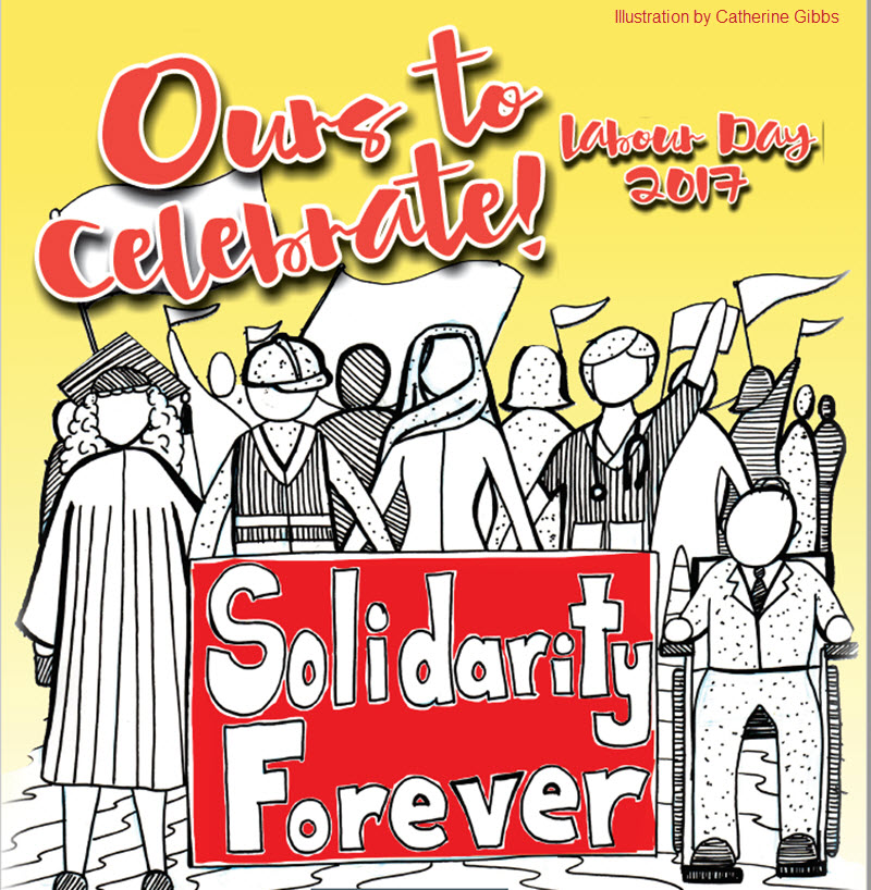 Labour Day banner 2017