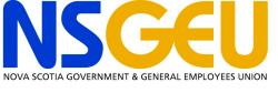 logo for the Nova Scotia Government and General Employees Union (NSGEU/NUPGE)