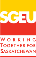 SGEU logo working together for Saskatchewan