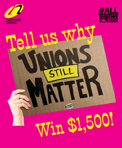Enter our Unions Matter contest