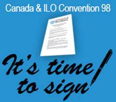 It is time for Canada to sign ILO Convention No. 98