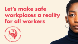 Let's make safe workplaces a reality for all workers.
