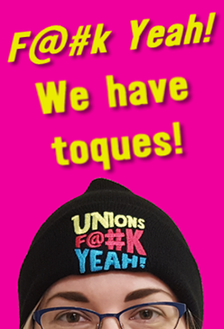 We have Unions F@#k Yeah! toques in our online store.