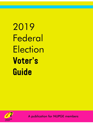 2019 Federal Election Guide - Cover