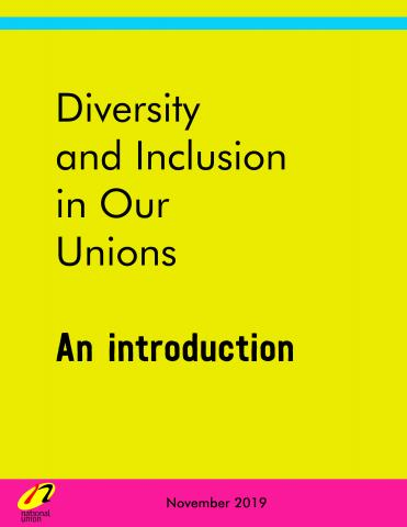 Cover image for Diversity and Inclusion in Our Unions: An introduction