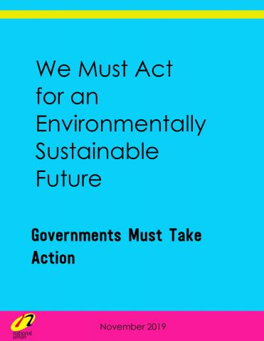 Governments Must Take Action