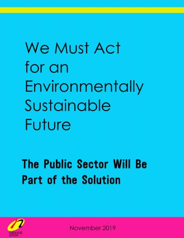 The Public Sector Will Be Part of the Solution