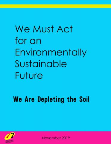 We Are Depleting the Soil