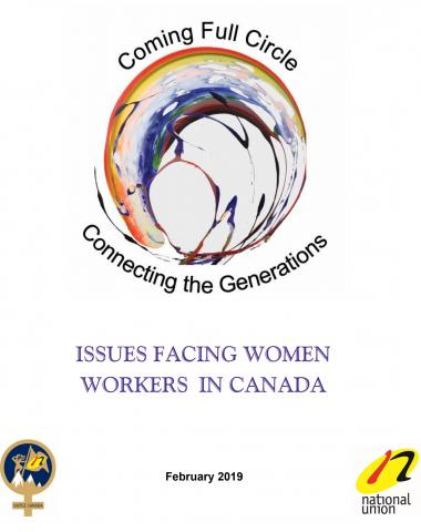 Issues Facing Women Workers in Canada