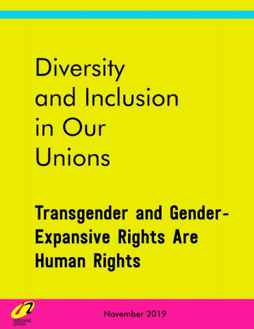 Cover image for: Transgender and Gender-Expansive Rights Are Human Rights