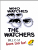 Who Watches the Watchers: Bill C-51 cover.
